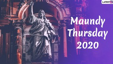 Maundy Thursday 2020 HD Images & Wallpaper For Free Download: Last Supper Photos to Share During Holy Week