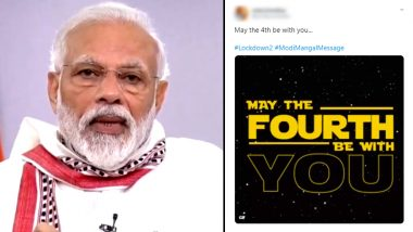 'May The 4th Be With You'!  Twitterati Reacts With Star Wars Phrase After Coronavirus Lockdown in India Gets Extended Till May 3
