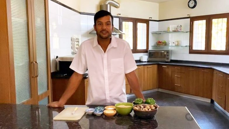 Mayank Agarwal Turns Chef, Exhibits Culinary Skills While Staying at Home During Lockdown (Watch Video)