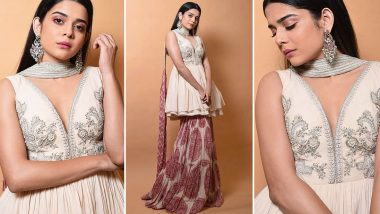 Mithila Palkar Spins an Elegant Affair in a Sharara Suit, Here's Why Her Paisley Printed Style Is a Big Wow!
