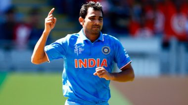 Mohammed Shami Says Will Need at Least a Month to Get Used to Saliva Ban