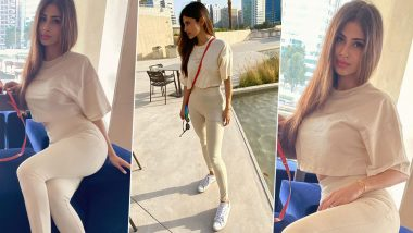 Mouni Roy Pouts, Preens and Poses Perfectly in Misguided Athleisure Separates!