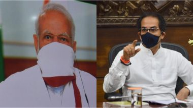 PM Narendra Modi, Wearing Mask, Holds Video Conference With Chief Ministers on Coronavirus Lockdown, See Pics