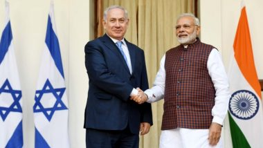 PM Narendra Modi Thanks Benjamin Netanyahu For Independence Day 2020 Wishes, Says 'India is Proud of increasingly Robust Ties With Israel'