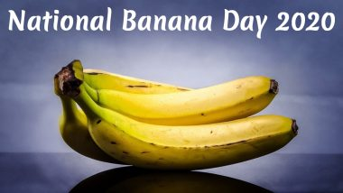 National Banana Day 2020: From Smooth Digestion to Strong Heart, Here Are Five Health Benefits of This Delicious Fruit