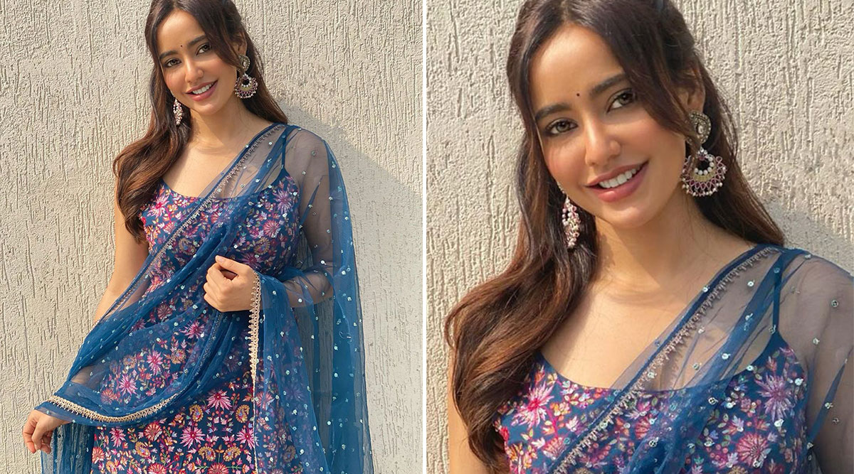 Neha Sharma Ethnic Glam in Chamee and Palak