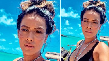 Nia Sharma's Pre-Quarantine Selfie From the Blue Horizon Is Hot and Mesmerising (View Pic)