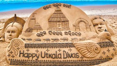 Utkal Divas (Utkala Dibasa) 2020: Sudarsan Pattnaik's Sand Art Celebrating Odisha Day Is Mesmerising! Know Date, History & Significance of The Day