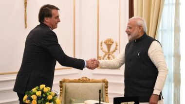 PM Narendra Modi Discusses Coronavirus Situation With Brazil President Jair Bolsonaro