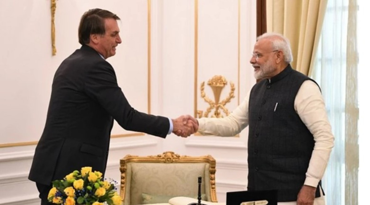 PM Narendra Modi Discusses Coronavirus Situation With Brazil President Jair Bolsonaro