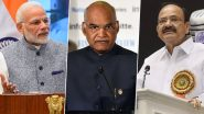 What is The Salary of President of India, Prime Minister, Vice President, Governors and MPs?