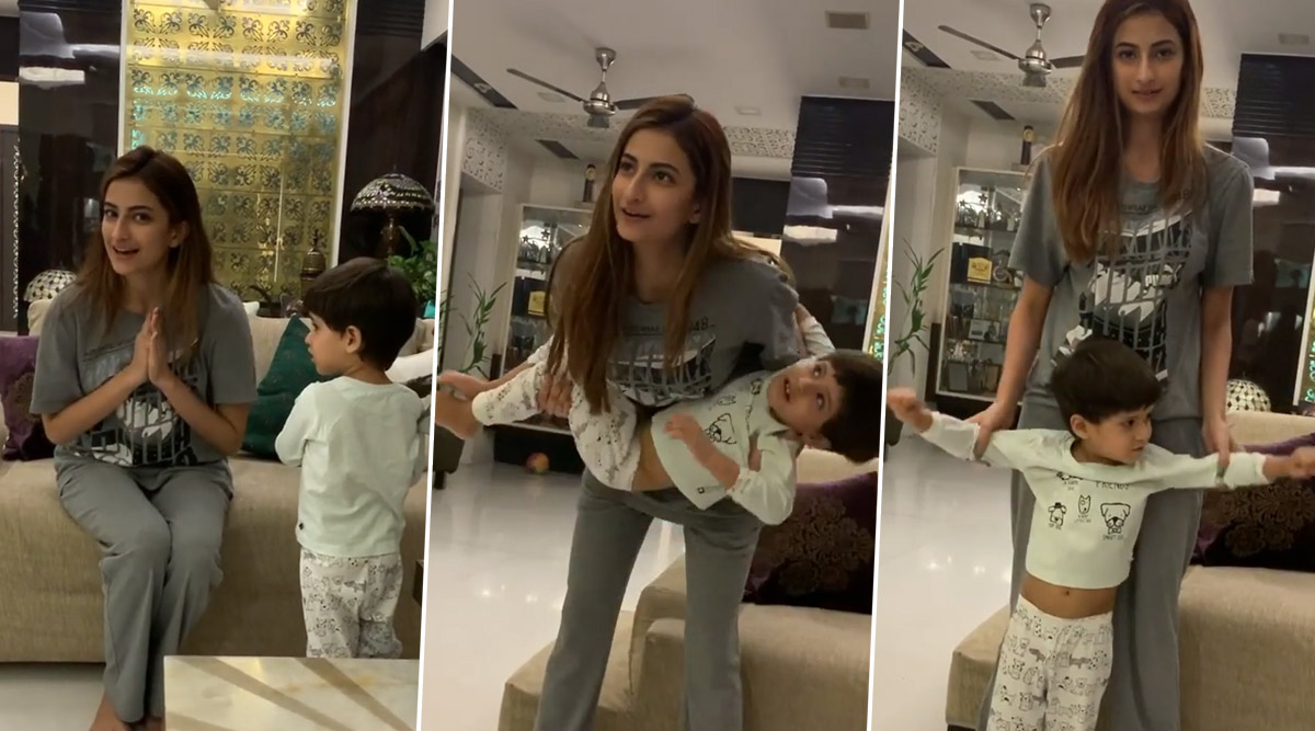 Shweta Tiwari's Daughter Palak Tiwari Shares a Cute Work-Out Video!