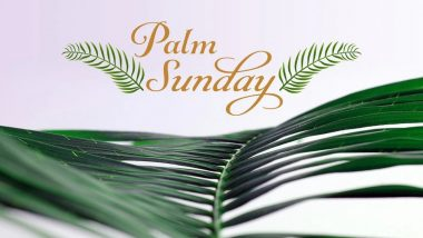 Happy Palm Sunday 2020 HD Images and Wallpapers For Free Download Online: WhatsApp Messages, GIFs, Bible Quotes, SMS & Greetings to Wish on First Day of Holy Week