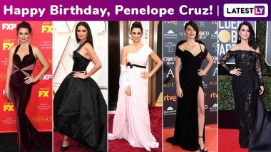 Penelope Cruz Birthday Special! Her Red Carpet Fiesta Has Always Been Fiercely Feminine With Subdued Sassiness!