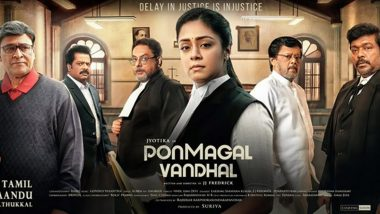 Jyotika on Ponmagal Vandhal: Time to Highlight What's Happening Around Us Through Cinema