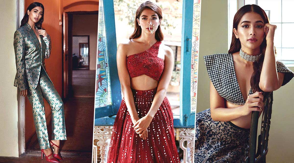 Pooja Hegde Redefines Luxe Flamboyance, One Ensemble at a Time in This Classy Photoshoot!