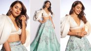 Pooja Hegde Is a Perpetually Happy Soul in Manish Malhotra Ensemble!