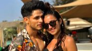 Kiss of Love! Priyank Sharma and  Benafsha Soonawalla Make Their  Relationship Insta Official (View Pic)