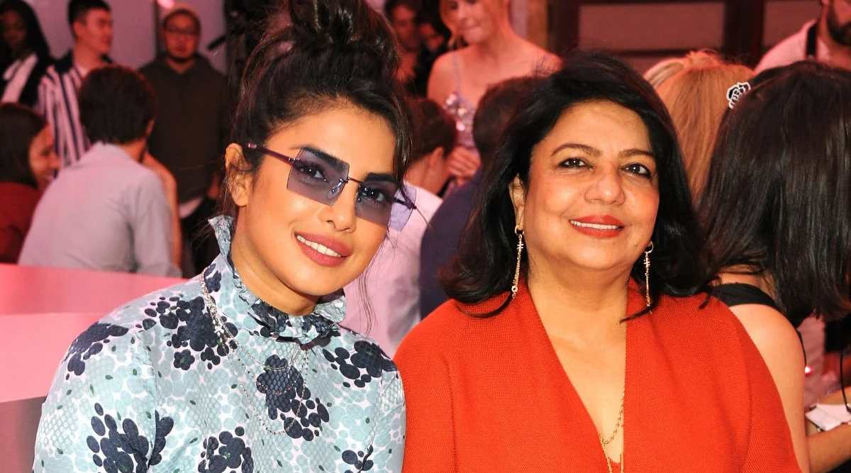 Priyanka Chopra's Mother Madhu  Chopra Reveals Why Her Father  Disapproved Her Western Outfits  When She Was a Teenager