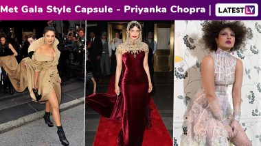 Met Gala Recap: When Priyanka Chopra and Her Fashion Tidings Snowballed Into a Fiesty, Fabulous and Fierce Fashion Avalanche Every Time at Met Gala!