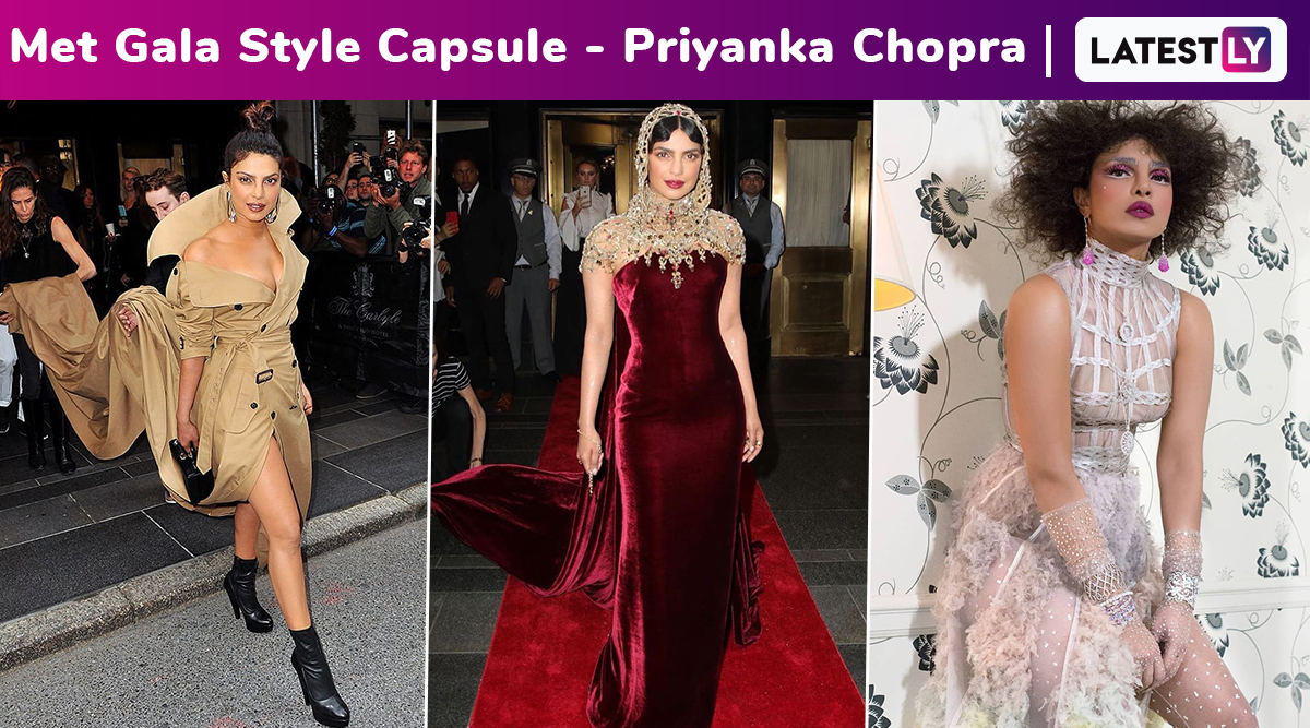 When Priyanka Chopra and Her Fashion Tidings Snowballed Into a Fiesty, Fabulous and Fierce Fashion Avalanche Every Time at Met Gala!