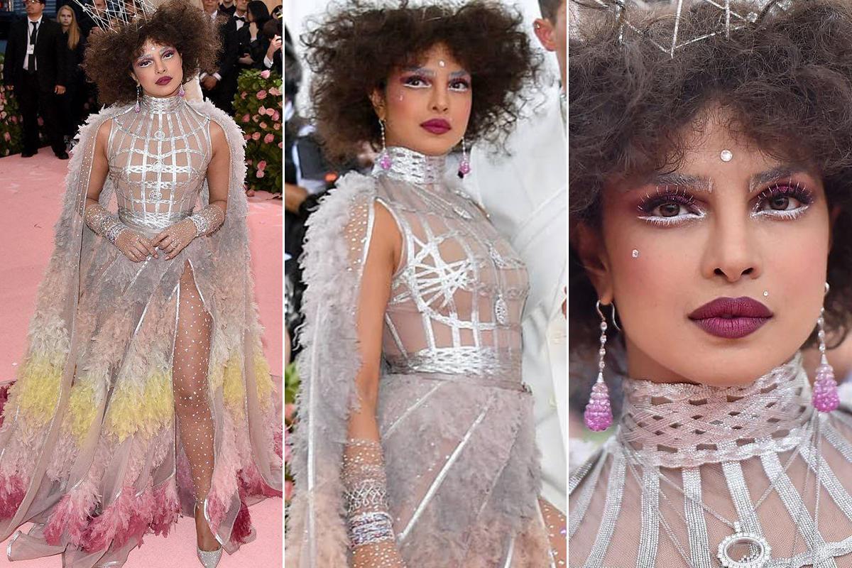 Priyanka Chopra in Dior for Met Gala 2019