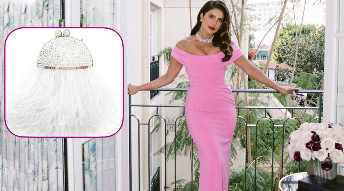 Pricey PeeCee: When Priyanka Chopra Flaunted A Crystal Feather Bag With No Feather-Light Price!