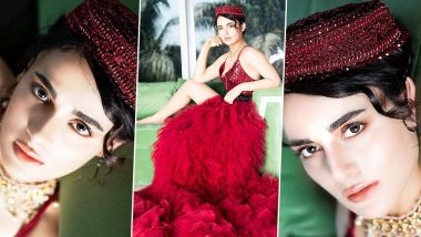 Radhika Madan Is a Red Hot Mess in Sequins, Tulle and an Anarkali Cap on the Cover for Candy Magazine This Month!