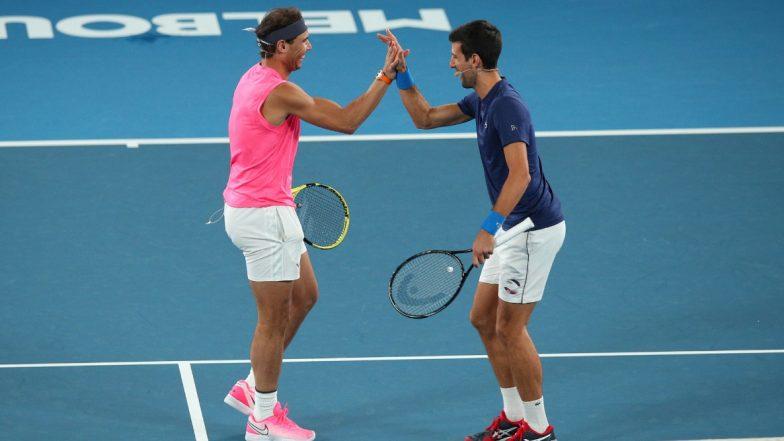 Rafael Nadal Thanks Novak Djokovic for Contributing to His COVID-19 Charity