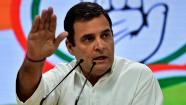 Rahul Gandhi Slams Centre Over Foreign Aid Amid COVID-19 Pandemic, Alleges That Government Did Not Do its Job Properly