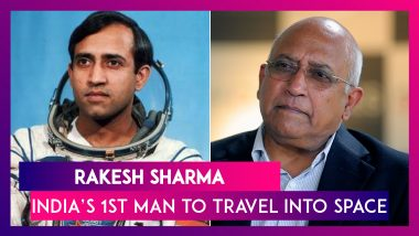 Facts to Know About Rakesh Sharma, India's First Man to Travel Into Space
