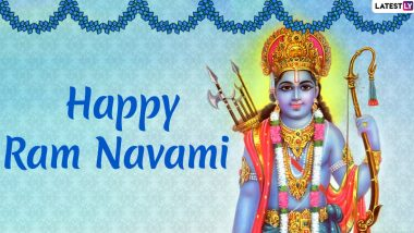 Ram Navami Images & HD Wallpapers for Free Download Online: Wish Happy Rama Navami 2020 With WhatsApp Stickers and GIF Greetings