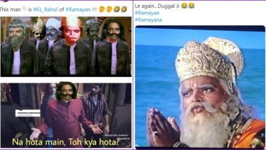 Ramayan's Aslam Khan Funny Memes: From 'Duggal Sahab, Aaj Kya Bane Hain' to 'KL Rahul of Indian Cricket', This Supporting Actor Has Become New Meme Material