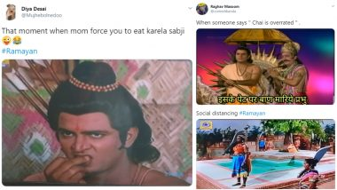 Doordarshan's Ramayan Funny Memes: From 'Iske Pet Par Baan Mariye Prabhu Ram' to 'Lakshman's Expression', Check Out New-Age Hilarious Jokes on Episodes