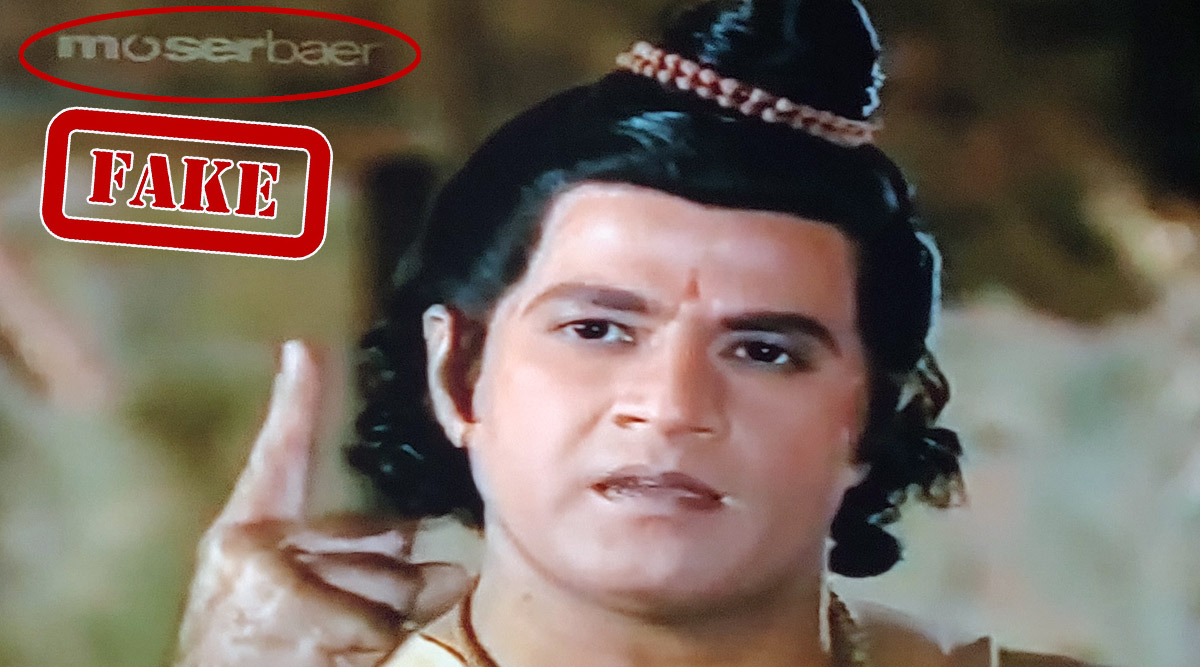 Did Doordarshan Air Ramayan Using Moser Baer DVD's Watermark? Here's The Fact Check On Streaming Controversy