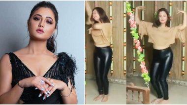 Rashami Desai Takes Up Genda Phool Dance Challenge; Her Killer Moves on the Jacqueline Fernandez Track Will Leave You Impressed (Watch Video)