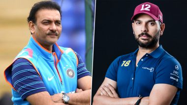 'Tussi Legend Ho': Ravi Shastri Replies to Yuvraj Singh With Grace After Latter Took a Subtle Dig at Indian Head Coach for Ignoring Him and MS Dhoni in Congratulatory Tweet for 2011 CWC Win