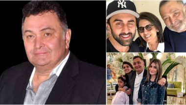 Rishi Kapoor Death: 'Neetu is My Rock', 'Ranbir and Ridhima Have Shouldered My Problems' - Read the Actor's Old Interviews on Family and Career