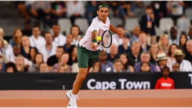 Roger Federer Goes Retro, Practises Tennis at Home by Hitting Against the Wall in Latest Video
