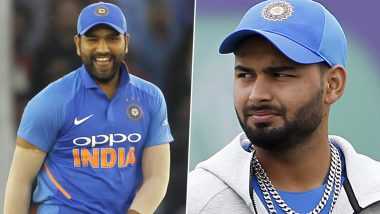 Rohit Sharma Brutally Trolls Rishabh Pant for Challenging Him in Longest-Six Hitting Competition (Watch Video)