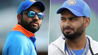 Rohit Sharma Slams Media While Defending Rishabh Pant