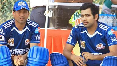 Rohit Sharma Shares His Five Best Moments With Sachin Tendulkar on Master Blaster's 47th Birthday (View Post)