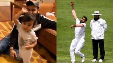 Jasprit Bumrah's Response on Rohit Sharma's Daughter Samaira Imitating His 'Boom Boom' Action Will Win Your Heart (Watch Video)