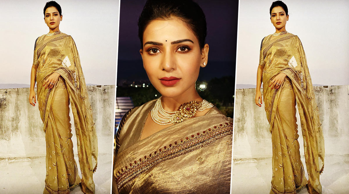 Samantha In Saree Advertisement