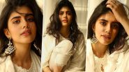 Sanjana Sanghi Goes Desi Glam Chic, Spends a Relaxed Homebound Afternoon Wearing a Languid White Kurti!