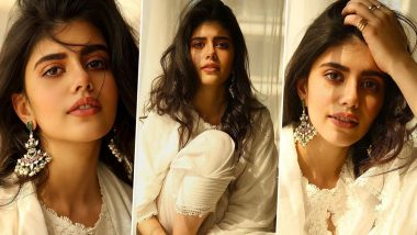 Sanjana Sanghi Gows Desi Glam Chiv Spends a Relaxed Homebound Afternoon Wearing a Languid White Kurti!