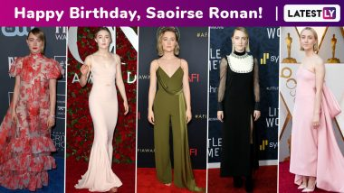 Happy Birthday, Saoirse Ronan! An Ode to Your Rapturous Affair With the Red Carpet, One Brilliant Look at a Time!