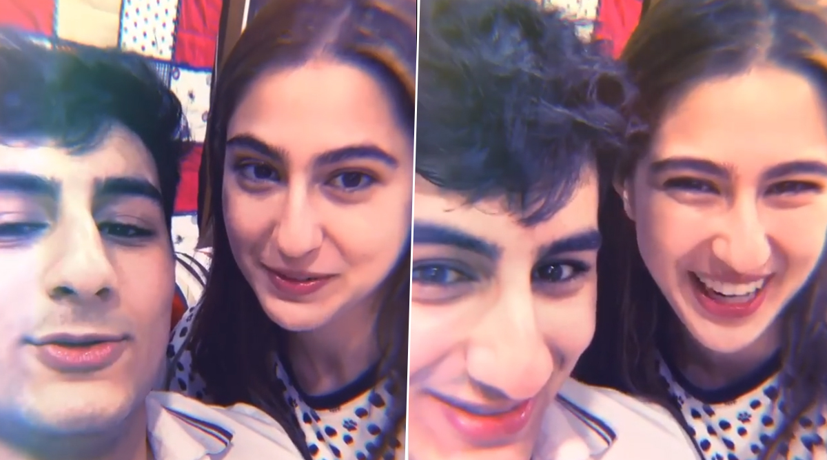 Sara Ali Khan Shares Throwback 'Knock Knock' Video Featuring Brother Ibrahim Ali Khan, and its Hilarious AF!