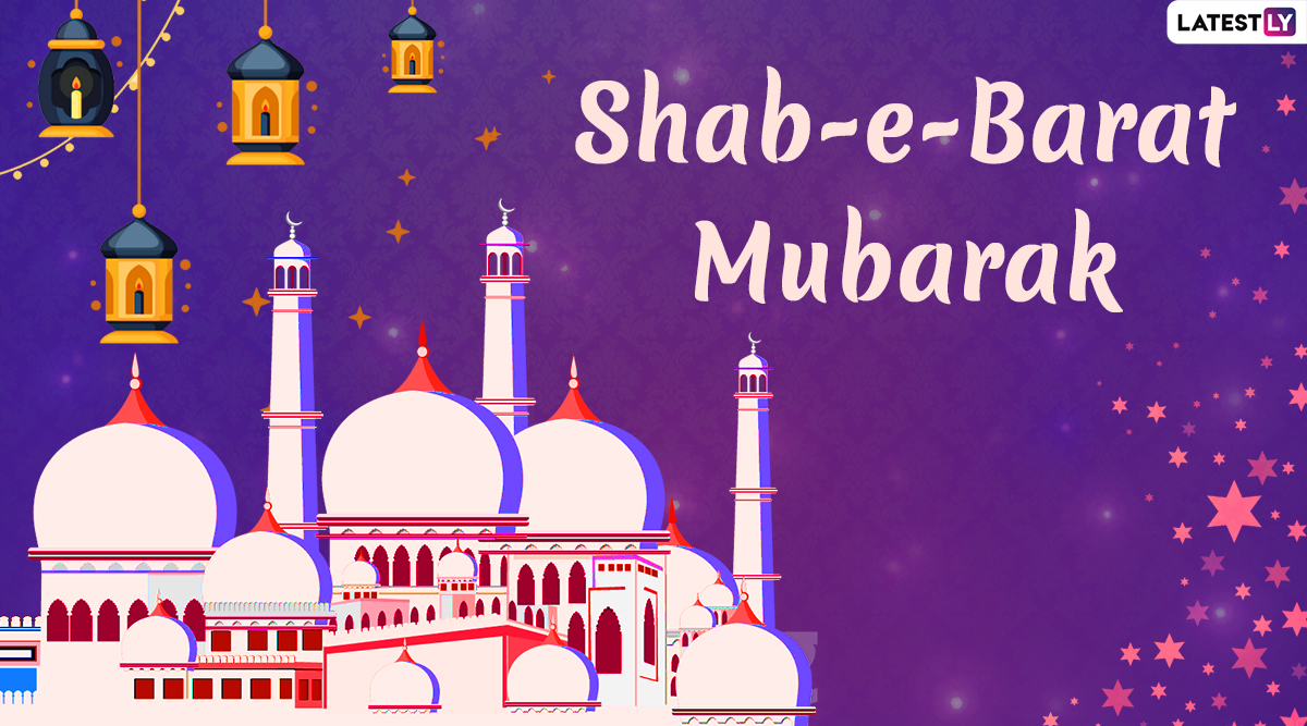 Shab-e-Barat Mubarak Images & HD Wallpapers for Free Download Online: Wish Happy Shab-e-Barat 2020 With WhatsApp Stickers and GIF Greetings on Mid-Sha'ban