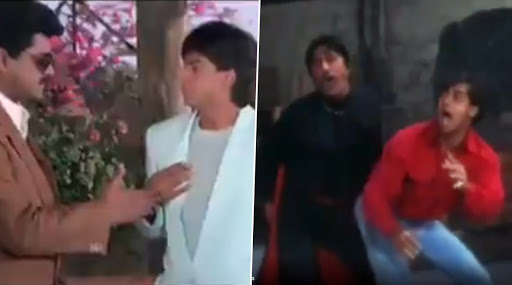 Mumbai Police Uses Main Hoon Na's Scene ToAdvocate Wearing Masks And Twitterati Proves Shah Rukh Khan And Salman Khan AlwaysBelieved InSocial Distancing (Tweets)